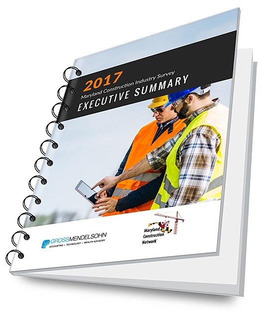 2017 Maryland Construction Industry Survey Executive Summary