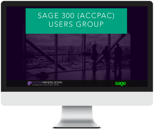 Accpac Users Group