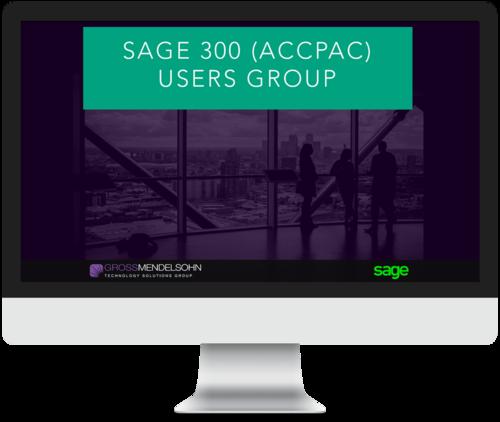 Accpac Users Group